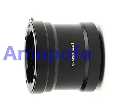 Leica Visoflex Mレンズからマイクロ4/3マウントOlympus EP1、EP2 パナソニックカメラM VISO-M4/3レンズアダプター。   B07D8574CQ