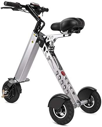 TopMate ES30 Electric Scooter Mini Tricycle Key Switch 3 Gears Rear Axle Longer for Mobility Assistance and Travel