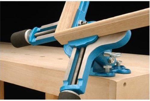 WOOD PICTURE CORNER MITER FRAME CLAMP CLAMPING BENCH VISE FRAMING FRAMERS TOOL by Clamps