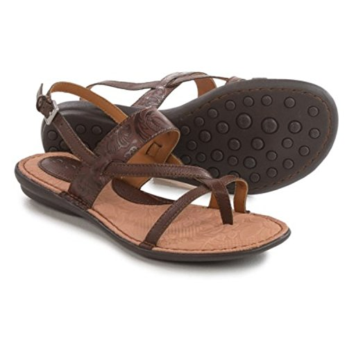 Born Concepts Magdalena Brown COFFEE Leather Women's Sandals Size: 7