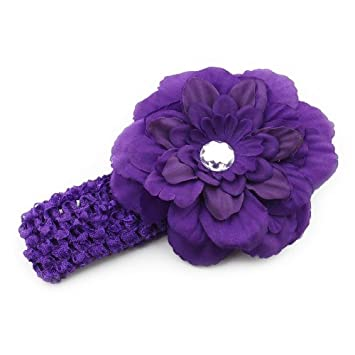 b0785d5a1 Amazon.com: Click Down 1pcs Baby Girls Hairband Crochet Headband ...