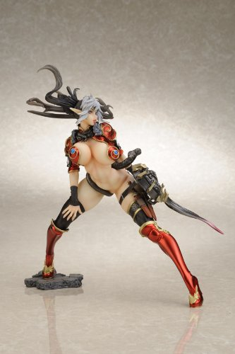 Queens Blade (1/6 scale PVC Figure) Echidna Wild Dance Touki Red ver. [JAPAN]