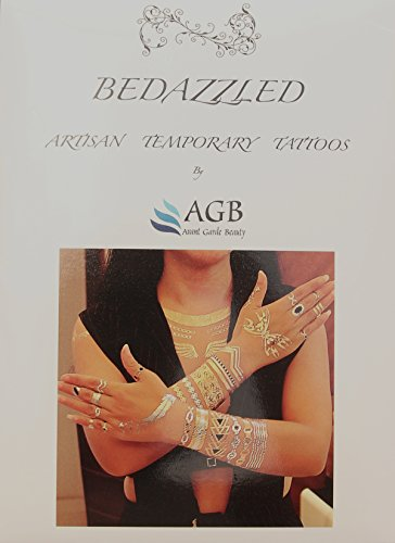 Best #1 Premium Temporary Metallic tattoo sheets. 8 sheets of metallic tattoos. Shimmer body art. Long lasting water resistant . Gold & Silver sexy metallic tattoos. Shimmer body jewelry by AGB from AGB