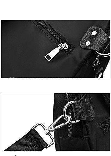 RFVBNM Frau Tasche Doppel-Schultertasche Frauen Oxford Canvas Rucksack Mini-Tasche mit personalisierten Stickerei Mode Persönlichkeit Dame Tasche Freizeitreise Rucksack Picknick Wander Tasche Rucksack