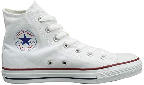 Chuck Taylor All Star Canvas High Top, Optical White, 4.5 M US by Converse (Image #7)