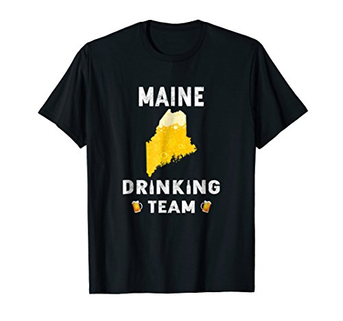(Maine Drinking Team Beer T Shirt)