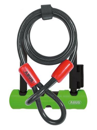 Abus 410 Ultra U Lock, 7, Ultra Mini w/ Cobra Cable
