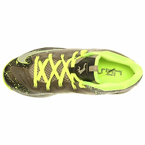 Nike Max Lebron Xi Basso Dunkman-mdm Khaki / Mdm Khk-vlt-mdm Oliva