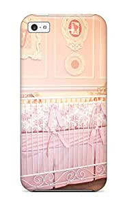 New Arrival Case Specially Design For Iphone 5c (pink Baby Girl Crib In Nursery)