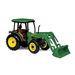 Ertl John Deere 5420 Tractor With Cab And Loader, 1:16 Scale