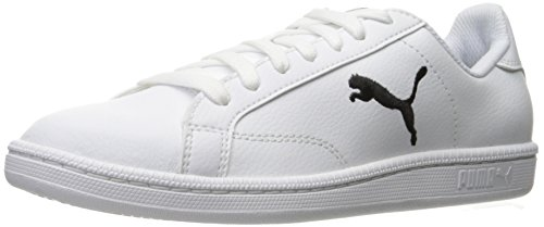 Sneaker da uomo Smash Cat L Fashion, Puma White-Puma Black, 6 M US