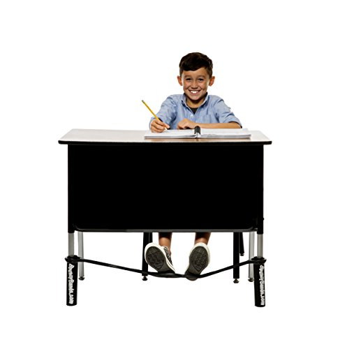 Bouncy Bands for Wide Desks (Black) (Bouncy Bands For Chairs Black Support Pipes)