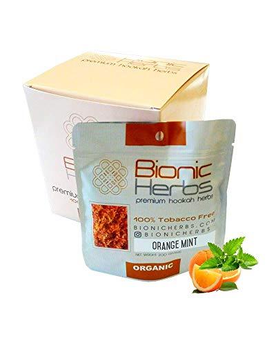 for Hookah - Orange Mint - 100% Nicotine Free Premium Herbal Shisha - 200g ()