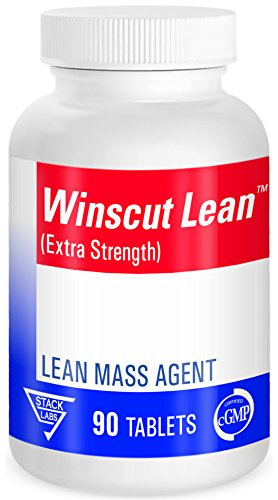 Stack Labs Winscut Bodybuilding Supplements Build & Maintain LEAN Muscle Mass, Strength & Burn Fat. Hardener for Cutting Cycles & Contest Prep. No Bloat. Great for Speed & Endurance Sports. 90 Ct