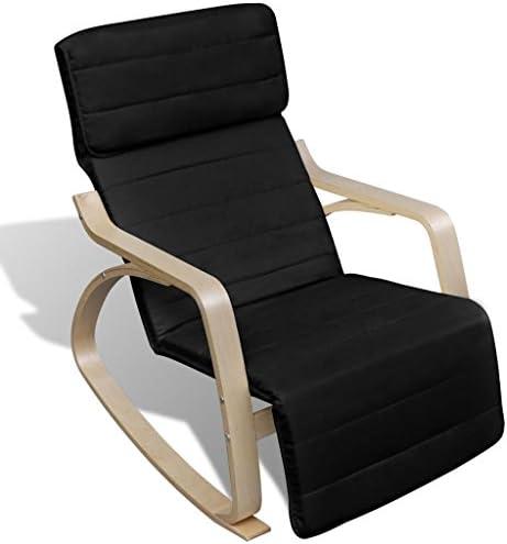 tiauant Möbel Schaukelstuhl Schaukelstuhl Holz gebogen und