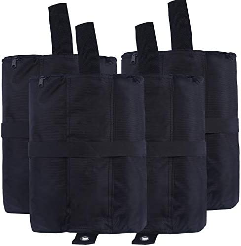 ABCCANOPY Canopy Weights Bag Instant Shelters Weight, Leg Weights for Canopy, Outdoor Tooth, Patio, Set of 4