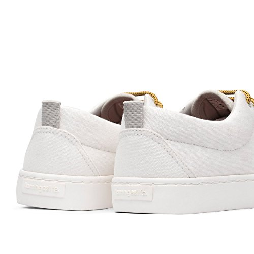 Unisex All Life Kailash White Flamingos' Sneaker H4x6w4X