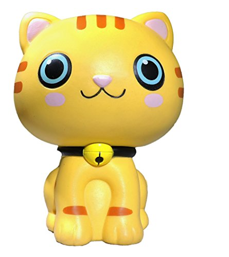 Sams Squishies Cat Squishy on SaIe! Jumbo Slow Rising at 20 Seconds! Large at 12cm for Girls and Boys of All Ages. Only The Best from