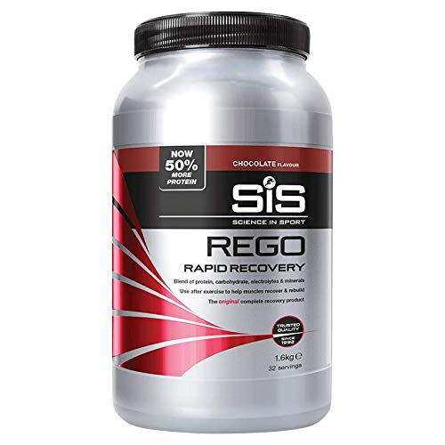 (SCIENCE IN SPORT Rego Rapid Recovery 1.6kg, Chocolate)