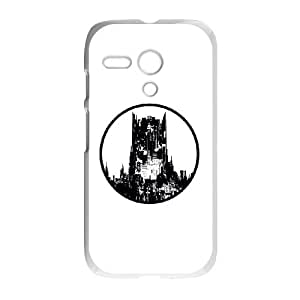Batman Architecture Motorola G Cell Phone Case White phone component AU_534594