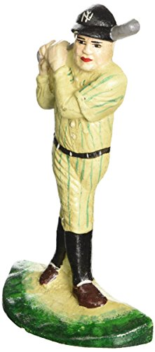 Design Toscano The Greatest Baseball Player Bookend and Sculptural Doorstop