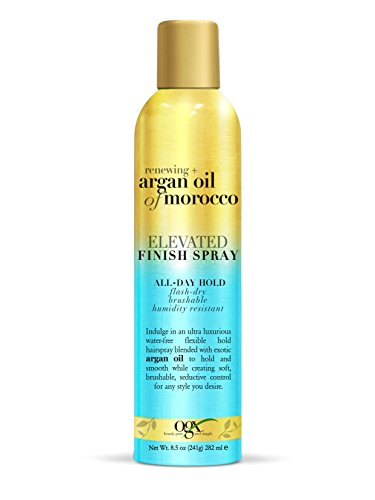 OGX Renewing + Argan Oil of Morocco Elevated Finish Spray, 8.5 Ounce