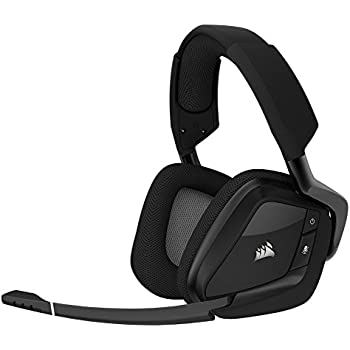 CORSAIR VOID PRO RGB Wireless Gaming Headset with DOLBY HEADPHONE 7.1 Surround Sound for PC - Carbon