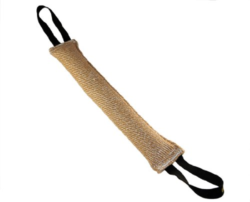 Dean and Tyler Large Training Bite Tug, Jute, Size: 24-Inch by 4-Inch, My Pet Supplies