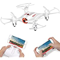 DoDoeleph Syma X21W Wifi FPV Mini Drone with Camera (White)
