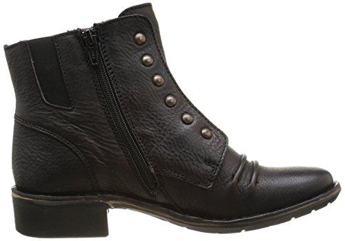 Noir Noir Boots Georges 8 Femme Kickers H41Zn
