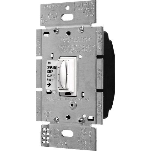 Lutron FA-600M-WH 600W Multi-Location Faedra Duo Dimmer, White