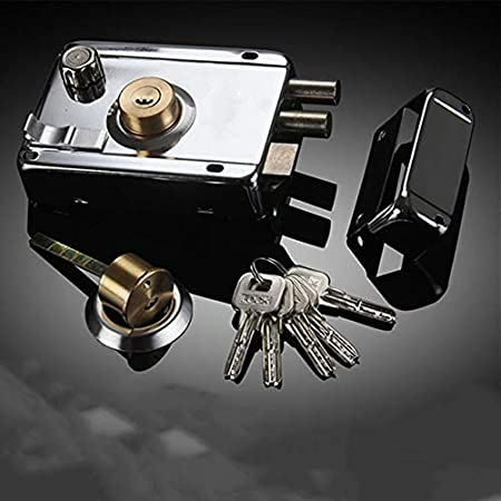Xennos Door Locks - Multiple Insurance Anti-theft Home Security Strong Bedroom Smooth Professional Door Lock Heavy Duty Stainless Steel Universal - (Color: Right With Deadbolt) - - Amazon.com
