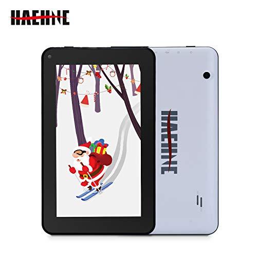 Haehne 7 Zoll Tablet PC, Google Android 9.0 GMS Zertifiziertes, HD Bildschirm, 1GB RAM 16GB ROM Quad Core, Zwei Kameras…