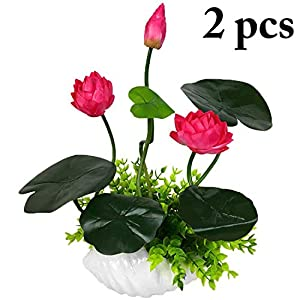 2 Bunches Artificial Flower Lifelike Elegant Fake Flower Fake Plant for Home,Rose Red 54