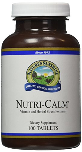 NATURE'S SUNSHINE Nutri-Calm Tablets, 100 Count by Nature's Sunshine