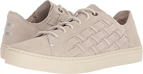 TOMS Women's Lenox Suede Birch Basketweave Ankle-High Fashion Sneaker - 8.5M