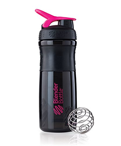 black pink blender bottle - 1