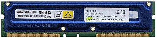 - 128MB 184-pin PC600 ECC RDRAM RIMM (p/n AEU)