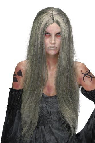 (Rubie's Nuclear Witch Wig, Grey, One Size)