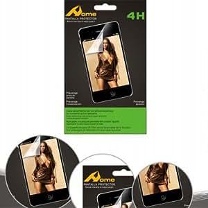 Pcmoviles -- 3x Protectores de pantalla Transparentes para LG Optimus Me P350