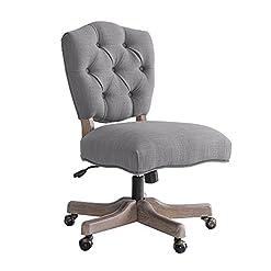 Farmhouse Accent Chairs Linon Chair, Grey farmhouse accent chairs