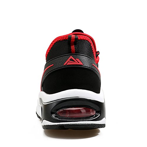 y botas LFEU rojo bajo adulto caño negro de Unisex vPnOPwZ