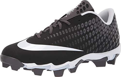 Nike Men's Vapor Ultrafly 2 Keystone Molded Baseball Cleat Wide Black/White/Thunder Grey Size 9 M US