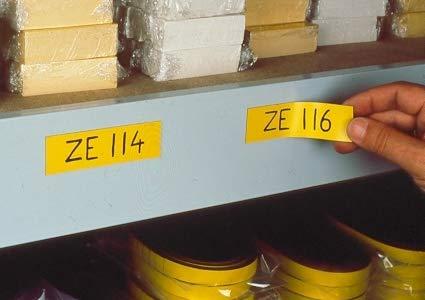 140 mm - 100 Pieces ME677 Orange Magnetic Labels