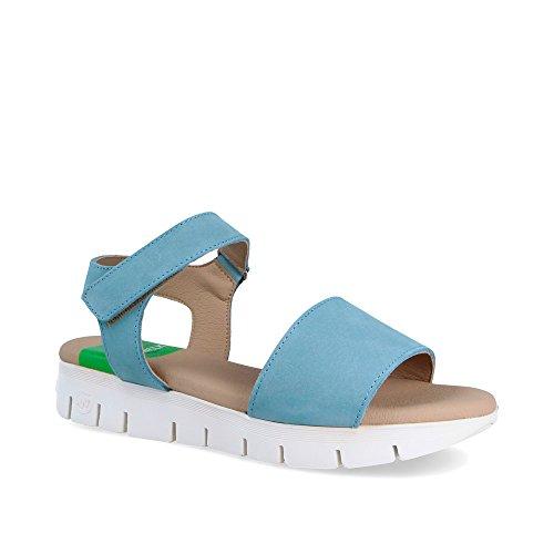 Zapatilla Syndra Slowwalk Nobuck Azul W Sneaker Mujer 1BEqwnd