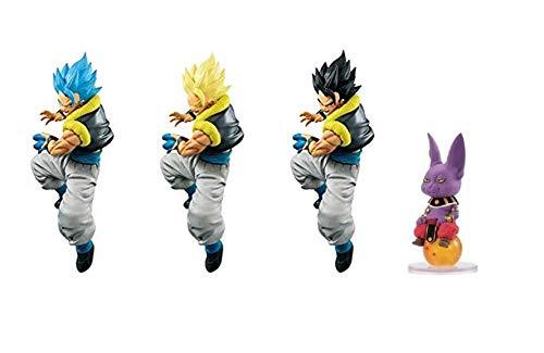 Champa Dragon Ball Super Mini Mascot Toy Figure /& Dragon Ball S Strongest Fusion Fighter Gogeta Figure S Kamehameha ! Set of 2 Banpresto