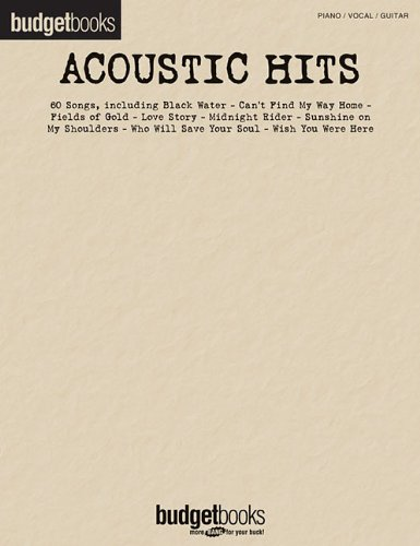 Acoustic Hits: Budget Books (Hal Leonard Budget Books)