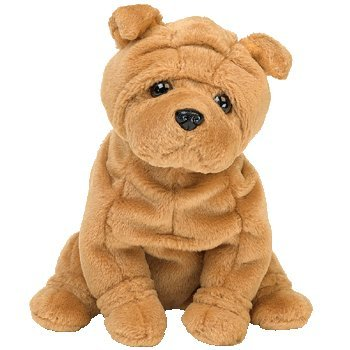 (TY Crinkles the Dog Beanie Baby by TY~BEANIES DOGS)