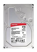 Toshiba X300 6TB Desktop 3.5 Inch SATA 6Gb/s 7200rpm Internal Hard Drive