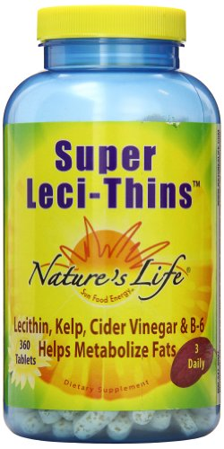 Nature's Life Leci-Thins Tablets, Super, 360 Count